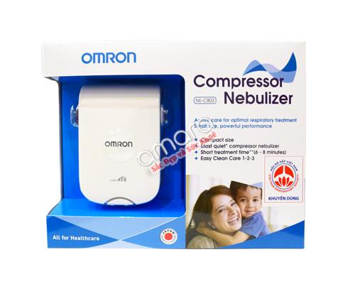 máy xông mũi họng omron dành cho trẻ em