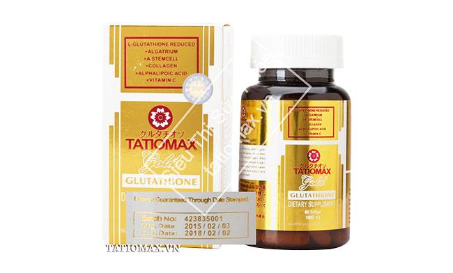Tatiomax Gold 1800mg thuốc trắng da nhanh và hiệu quả
