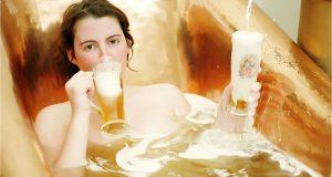 tắm trắng toàn thân bằng bia và sữa tươi hiệu quả