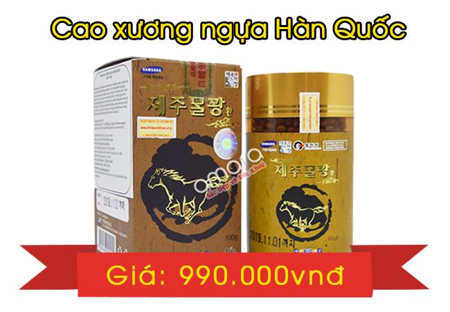 giá bán Cao xương ngựa Hàn Quốc
